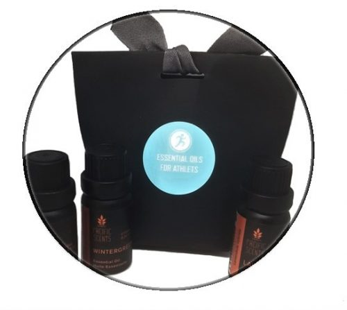 Essential oil pack for athlet