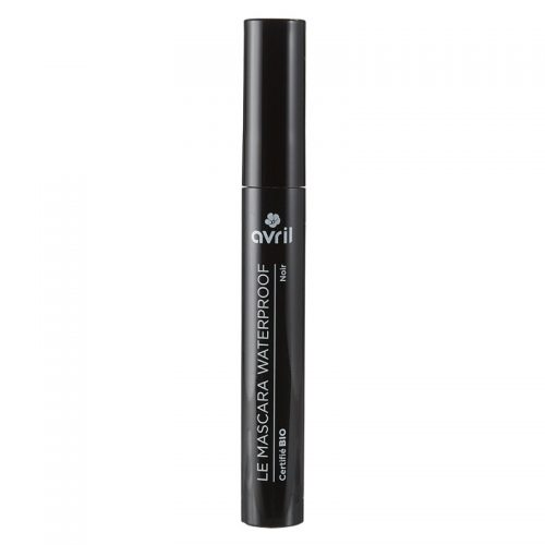 Black waterproof mascara