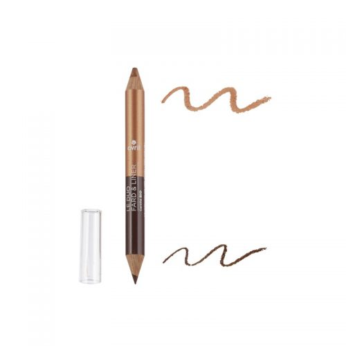 eyes shadow crayon liner terre brulée