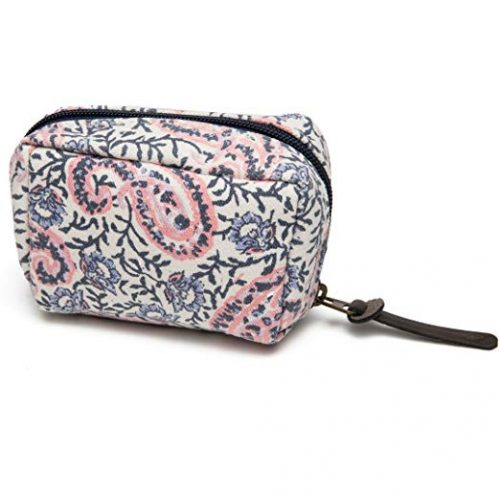 pink and blue carrying case