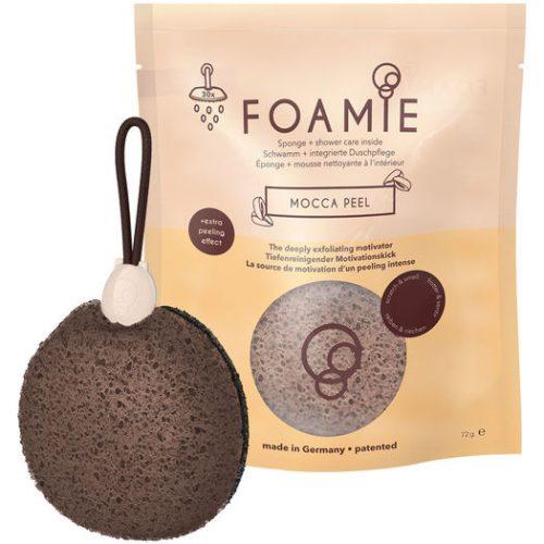 Sponge with cleaning foam